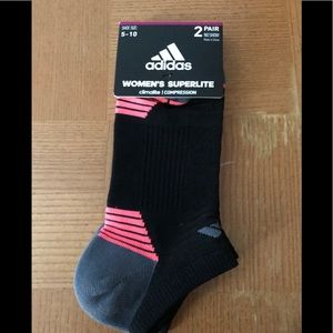 Adidas compression socks...2 pair